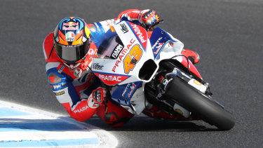 Jack Miller during practice at the Australian MotoGP on Friday.