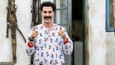 Borat is back.