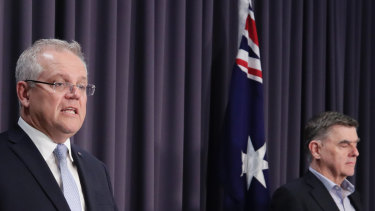 Prime Minister Scott Morrison and Chief Medical Officer Professor Brendan Murphy  announce drastic new bans.