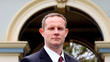 Inner West mayor Darcy Byrne has given evidence before a parliamentary inquiry into state government grants.