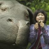 Okja featured an oversized pig threatened by destructive humans.