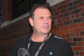John Setka is a key player in the battles within the CFMMEU