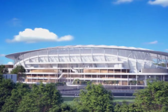 The government will spend $729 million on the Allianz stadium rebuild.