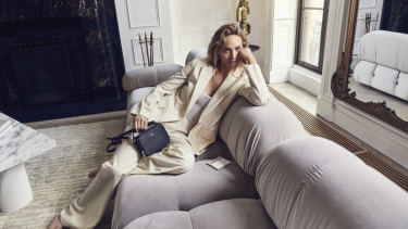 Amber Valetta in the new campaign forThe DailyEdited.