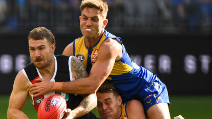 AFL 2021 LIVE updates: Saints struggling to gain foothold against Eagles, Lions smash Suns, Roos blitz Blues