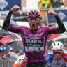 Dumoulin pulls out of Giro, as Ackermann shines in torrential rain