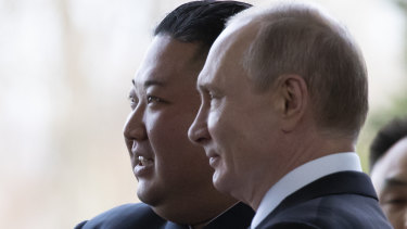 North Korean leader Kim Jong-un and Russian President Vladimir Putin met for the first time in Vladivostok.
