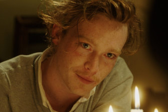 Caleb Landry Jones stars as Jeremy Armitage in the film Get Out.