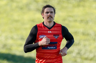 Joe Daniher could be a Lions player by Friday.