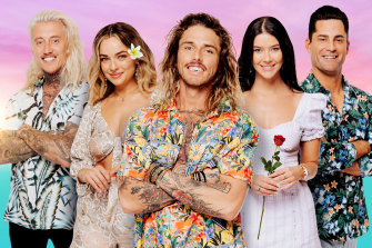 Network 10's Bachelor in Paradise will compete with Nine's Ninja Warrior and Seven's Farmer Wants A Wife on Sunday.