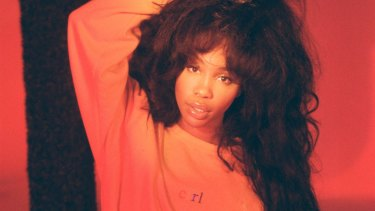 American R&B singer SZA performs at the Hordern Pavilion this week.