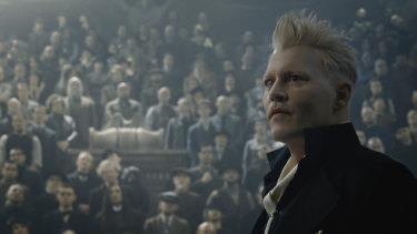 Rowling has said Grindelwald and Dumbldore had an 'intense sexual relationship'.