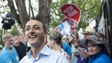 Liberal Party candidate Dave Sharma performed well earlier in the campaign.