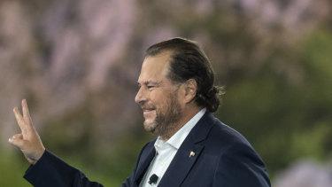 Mr Benioff said trust is key to Salesforce's culture.