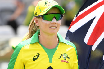 The Australian women's team wore an Indigenous jersey for a match against England earlier this year.