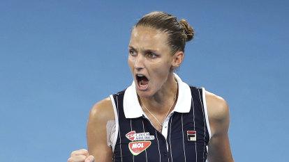 Pliskova success raises prospect of overdue Grand Slam breakthrough