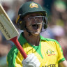 Waugh footing: Labuschagne taps to the beat of his own drum