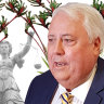 What are the disputes involving Clive Palmer and the WA government about?