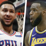 The King v the Prince: LeBron-Simmons match-up on cards for Melbourne