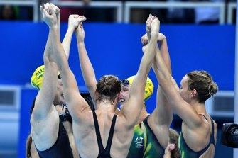 The ABC has called every magical Olympic moment since 1952, including relay gold for the women's 4x100m freestyle team in Rio.