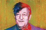 """Stephen Fry: """"I genuinely think that laughter is not only enough, it is what is needed, and it saddens me that it is a young person's game."""""""