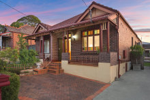 This three-bedroom semidetached house at 74 Waratah Street in inner-western Sydney's Haberfield sold by private treaty $1,712,000.