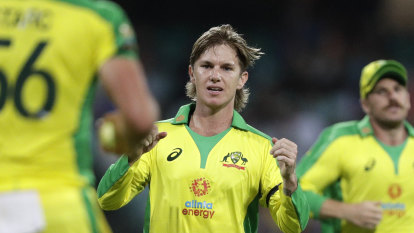 Zampa targets Test chance with white-ball form