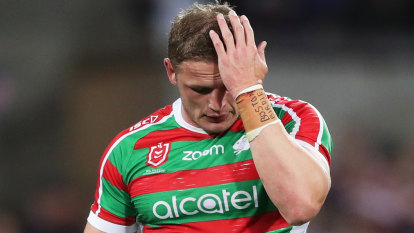 George Burgess tips more bro time after 'curve ball' gouging ban