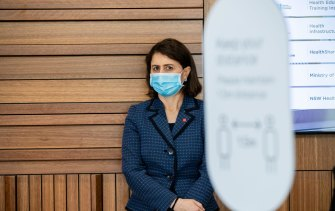NSW Premier Gladys Berejiklian is betting the economy can recover while public health measures restrict the spread of the virus.