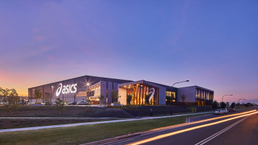ASICS has opened its Oceania headquarters at Sydney Business Park in Marsden Park, in Sydney's north-west.