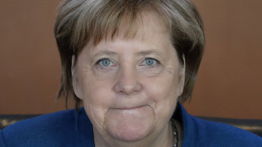 German Chancellor Angela Merkel 'knows when the time is ripe'.