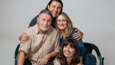 The cast of Things I Know to Be True (clockwise from left) Tony Martin, Tom Hobbs, Helen Thomson and Miranda Daughtry.