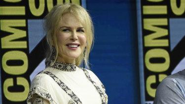 Nicole Kidman at Comic-Con.