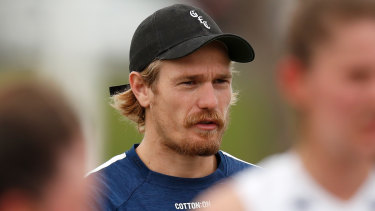 Groin issues: Cats backman Tom Stewart.