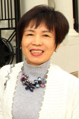 Mr Huang's wife, Fiona Huang.