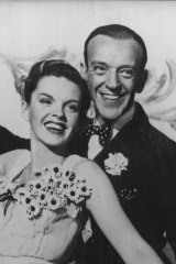 Hollywood stars like Judy Garland (pictured with Fred Astaire) were built up by studios, and then torn down once they passed their deemed use-by date.