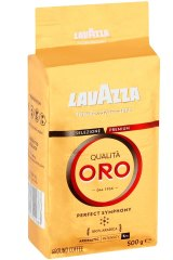 Lavazza 'oro' beans, which Vittoria says infringes its trademark.