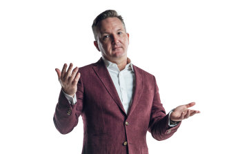 """Chris Bowen: """"I've been around people who've led the party and people who've wanted to – and I've seen the toll it can take on one's mental health. I'm never going to do that."""""""