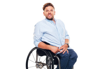 """Dylan Alcott: """"A lot of people think people with a disability can't have sex. And a lot of people with a disability are left out of the dating pool because of that misconception."""""""