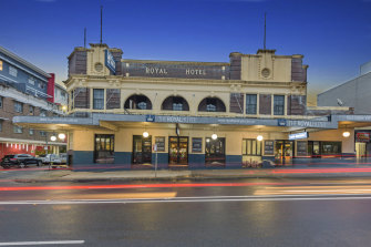 The Royal Hotel at Ryde in north-west Sydney has been bought by former Wallaby Bill Young.