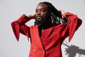Ghanaian-Australian artist Genesis Owusu.