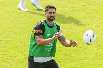 Shaun Johnson has been in sparkling form for the Sharks.