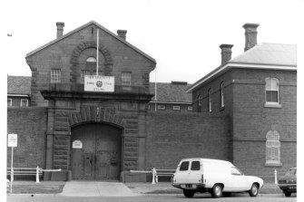 Geelong Gaol in 1976.