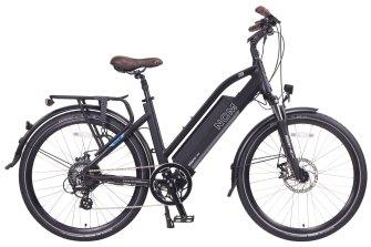 The NCM Milano electric trekking bike.