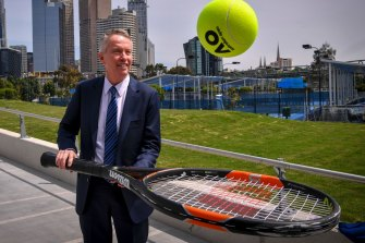 Craig Tiley remains confident the Australian Open will remain in Melbourne.