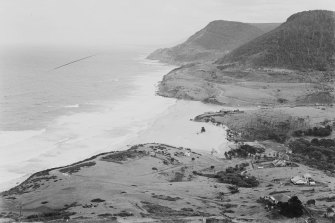 Stanwell Park from Bald Hill, circa 1934.