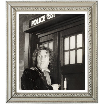 TV character Dr Who uses a police box called the Tardis to travel back and forwards in time.