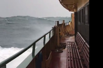 Ferry travellers on Sydney Harbour can expect some rough rides - and perhaps even cancellations - as big swells and high winds buffeting coastal regions of NSW later this week.