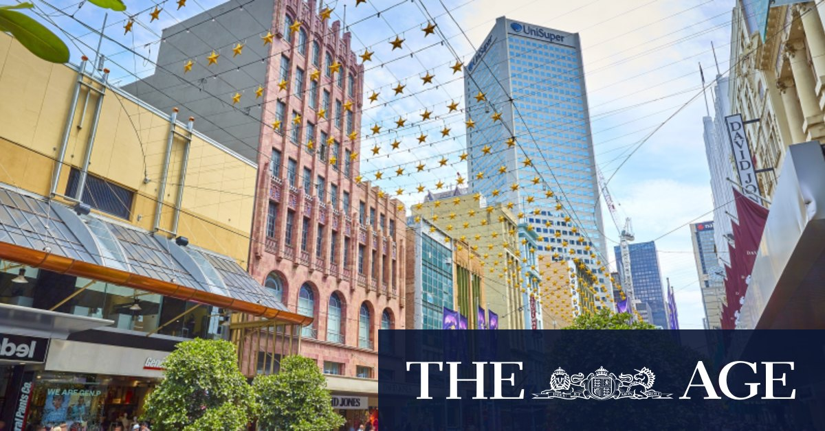 David Jones sells Bourke Street store to Newmark for $121m – The Age