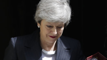 May had 'put the sofa up against the door', according to one Conservative party member.